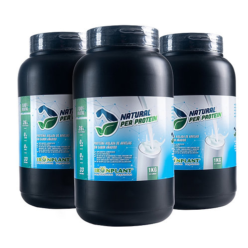 Proteína Aislada de Arveja Natural 3 kg (sin sabor)