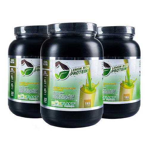 Proteína de Arroz Limón 3 Kilos