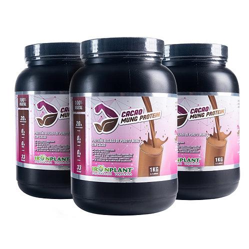 Proteína de Poroto Mung con Cacao 3 Kilos