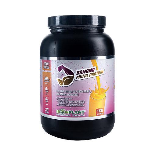 Proteína de Poroto Mung con Banana Liofilizada 1 Kilo