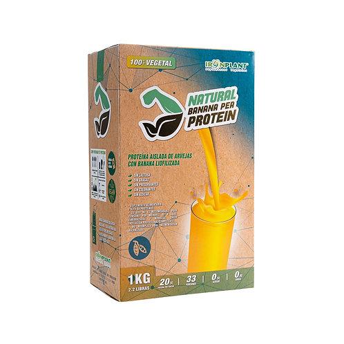 Proteína de Arveja Banana 1 kilo Caja