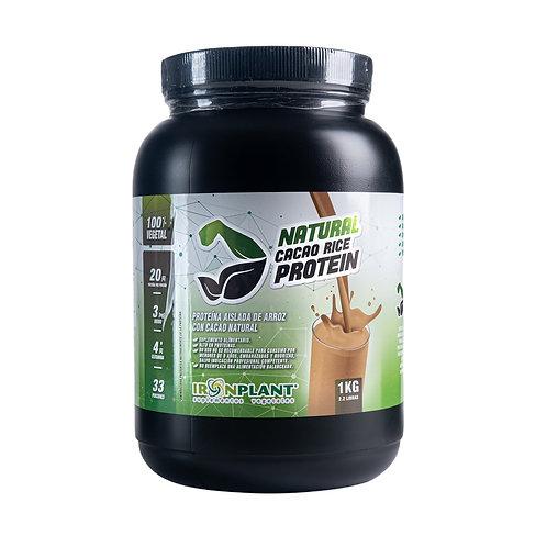 Proteína de Arroz con Cacao Orgánico 1 kilo