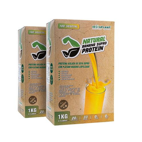 Proteína Supro Banana 2 kg Caja