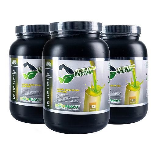 Proteína de Haba Limón 3 kilos