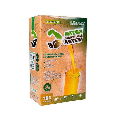 Proteína de Arroz Banana 1 kilo Caja