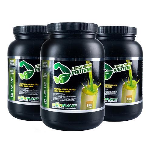 Proteína de Soya Supro Limón 3 Kilos