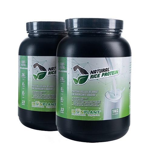 Proteína de Arroz Natural (sin sabor) 2 kilos