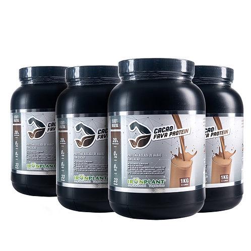 Proteína de Haba Cacao 4 kg