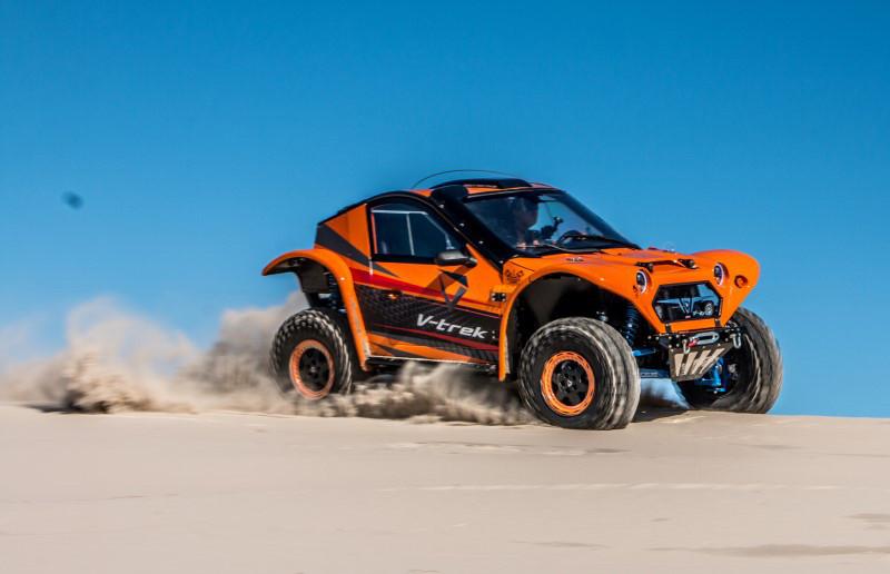 Protótipo foi desenvolvido para uso off-road pesado e em provas de rally extremo – Crédito: Divulgação