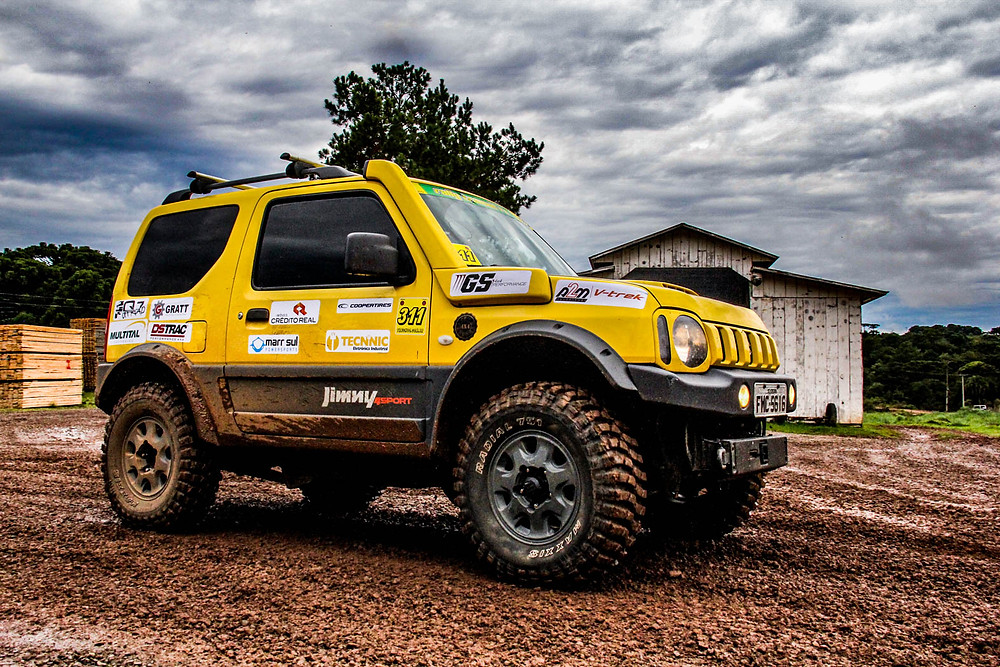 Jimny Rally Trancos RS Rally Regularidade