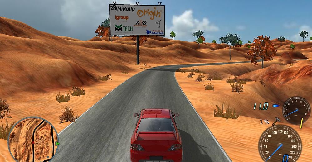Rabbit Virtual Liga Brasil Rally Regularidade