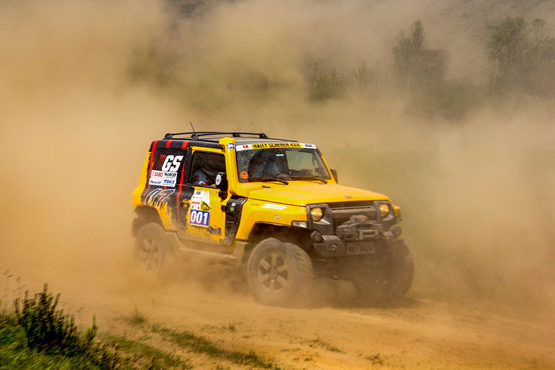 Catarinense de Rally Regularidade Scherer 4x4 Carbon Free em São Bento do Sul, Santa Catarina