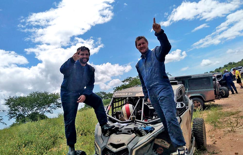 Marcelo Ritter e Roberto Keller foram campeões na sua estreia no RN 1500 - Crédito: FJS Fotos