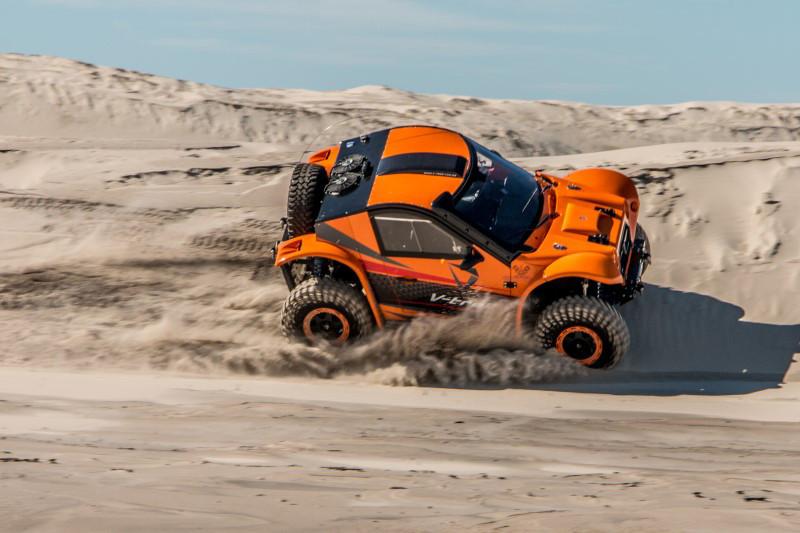 Veículo será testado no Rally Trancos RS com o objetivo de levar o protótipo ao Rally dos Sertões ainda neste ano – Crédito: Divulgação