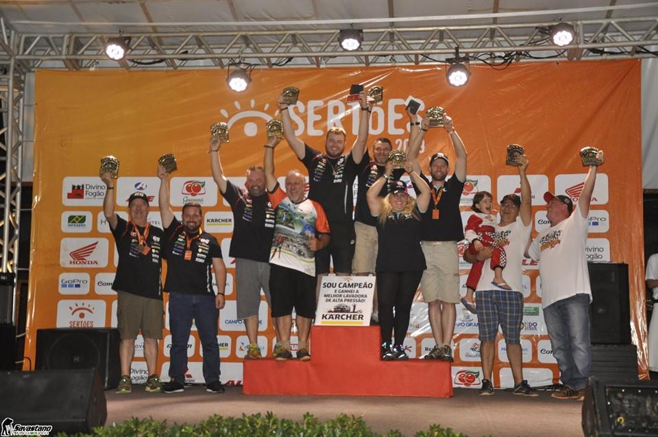 GS Racing e Trancos & Barrancos Pódio Sertões 2019