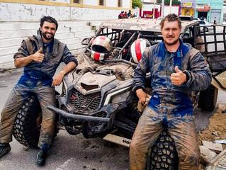 """Dupla da Trancos & Barrancos disputa """"Rally Caminhos da Neve"""" entre os UTVs"""