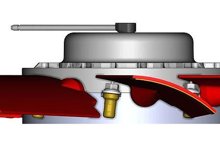 Flat fanblade angle