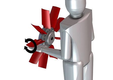 Cleanfix puller fan type