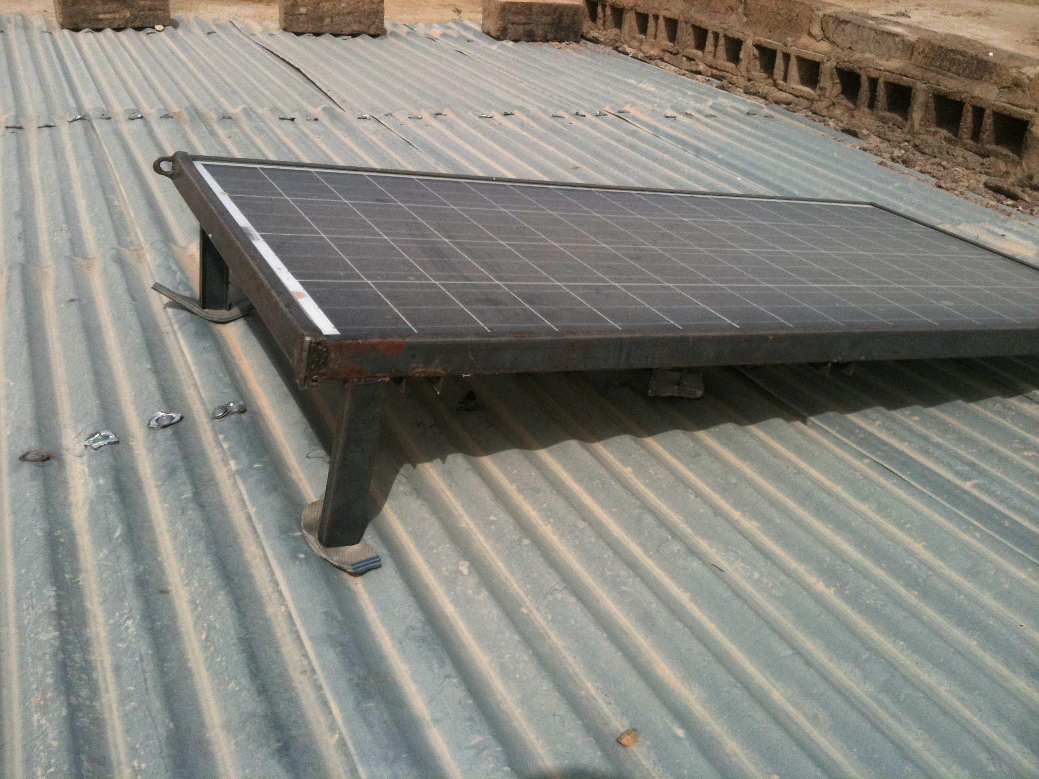 Panneaux solaires financés en 2016
