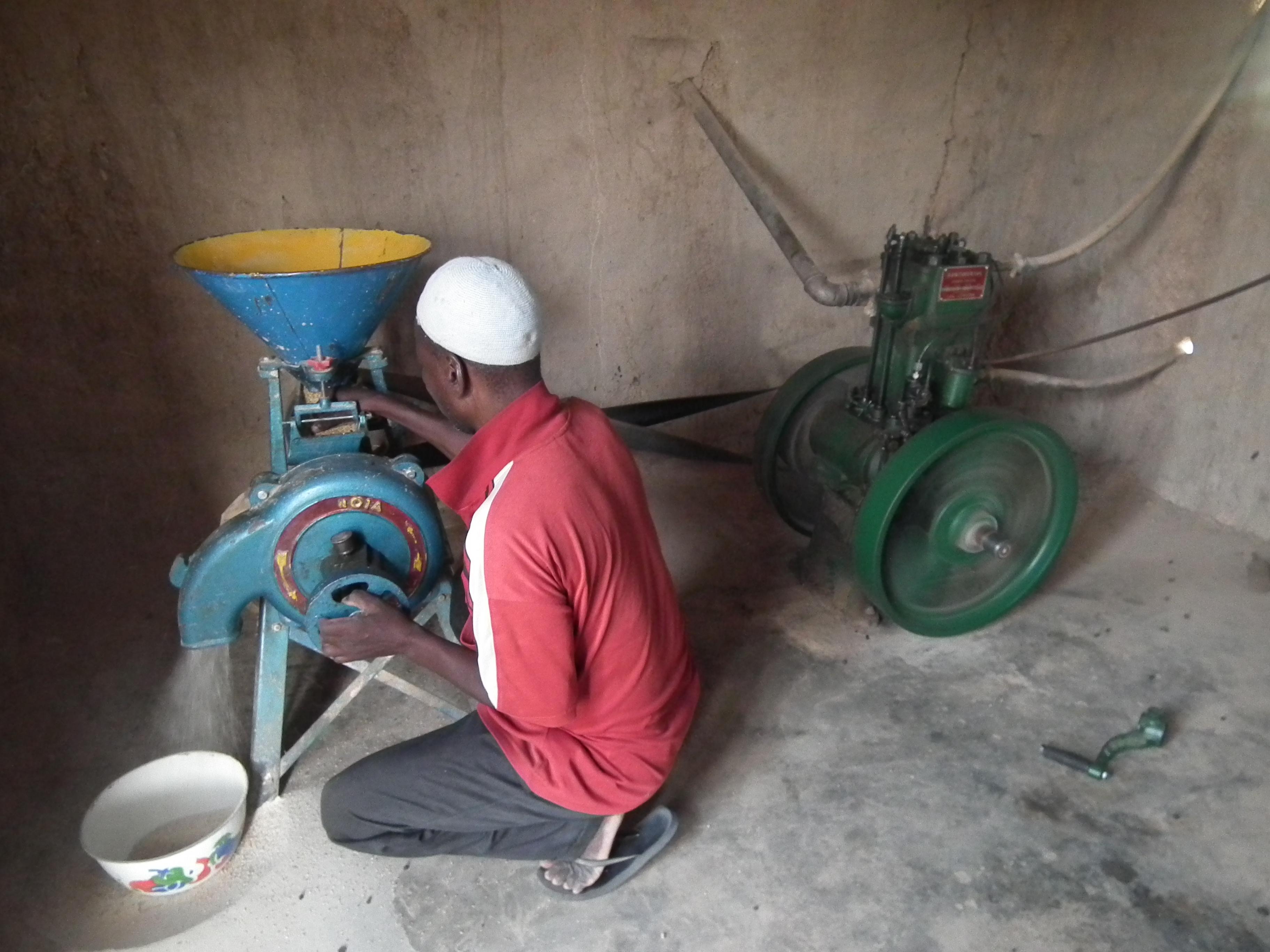 Le moulin à céréales