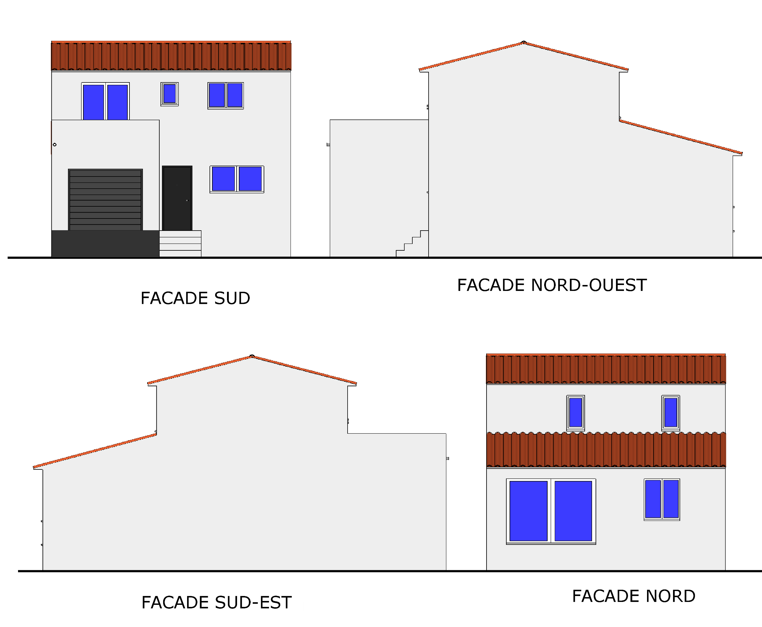 Plan de maison traditionnelle