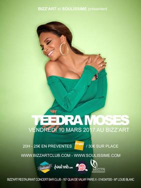 Teedra Moses Live à Paris