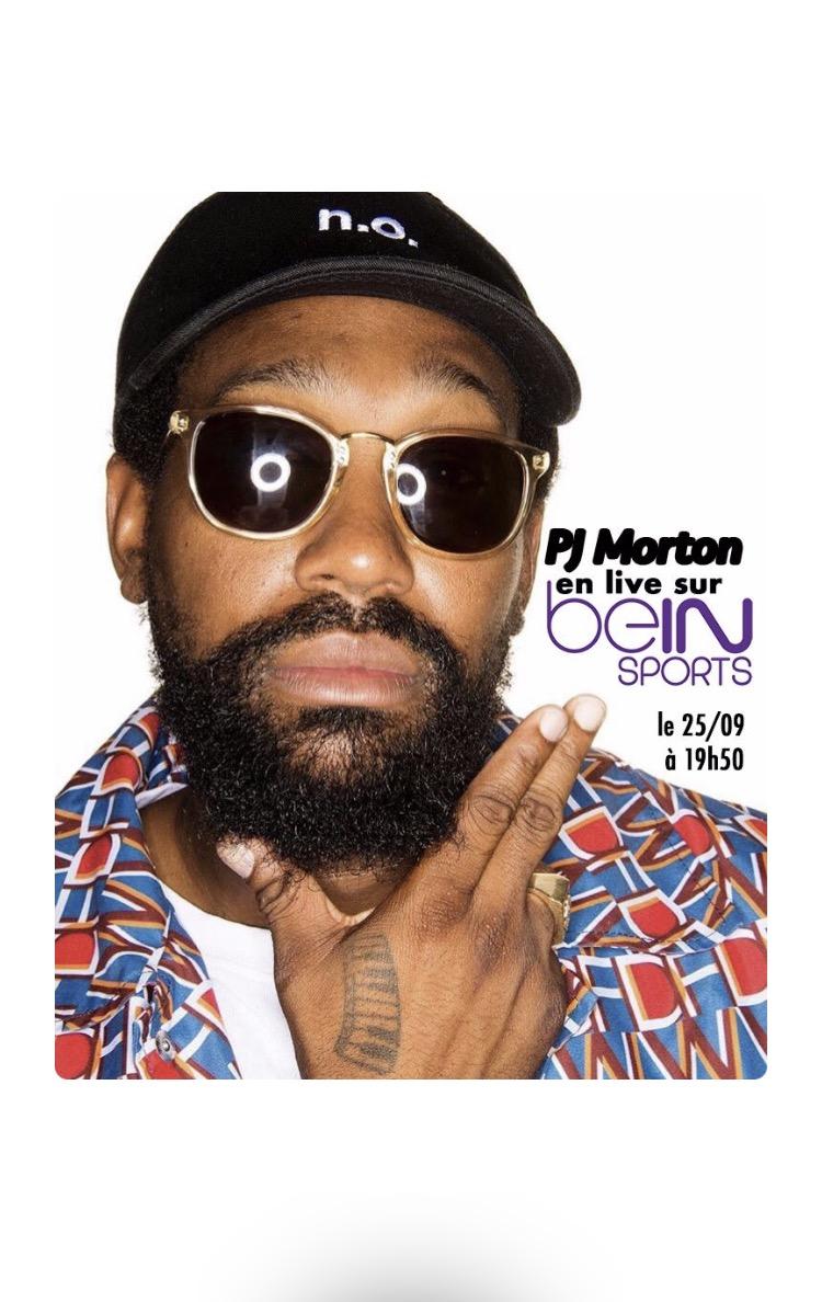 PJ Morton live sur bEIN Sport