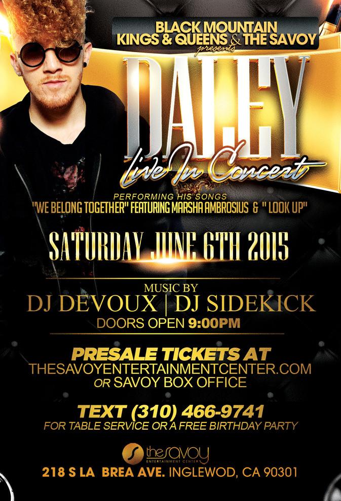 Daley concert à Los Angeles