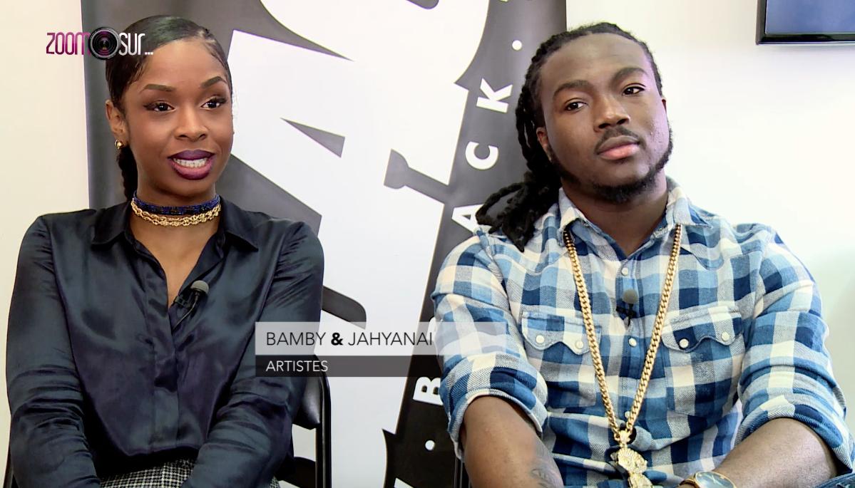 Bamby & Jahyanai sur Bblack TV