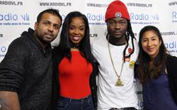 Bamby & Jahyanai sur radio VL itw