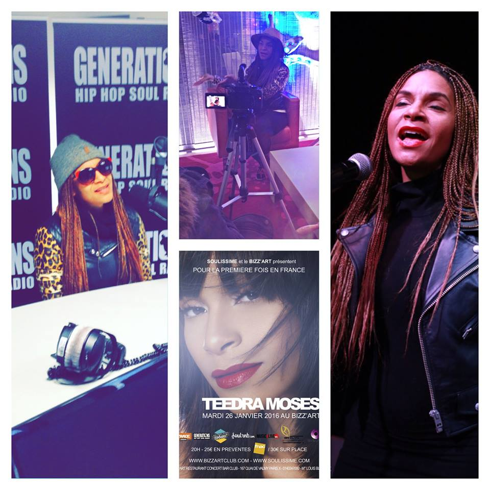 Teedra Moses promo day & concert