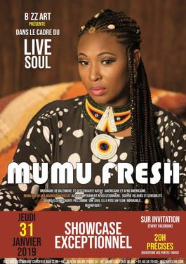 Mumu Fresh Live @ Bizz'art Paris (avec Briclyn Ent)