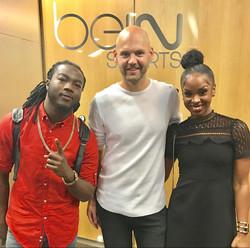 Bamby & Jahyanai live sur bEIN Sport