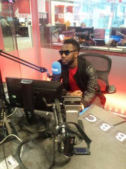 Promo Pegguy Tabu sur BBC radio (Londres)