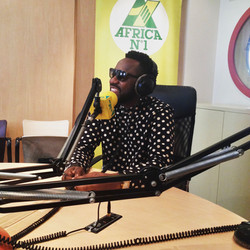 Promo Pegguy Tabu sur Africa1 radio