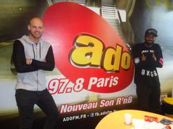 Aaron Camper itw sur ADO FM