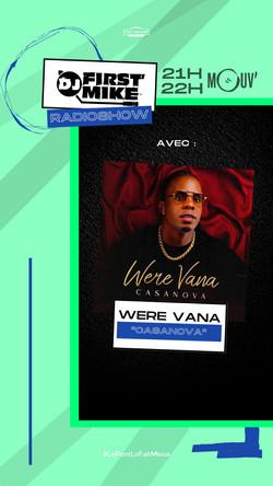 WeRe Vana - Casanova sur Mouv' radio