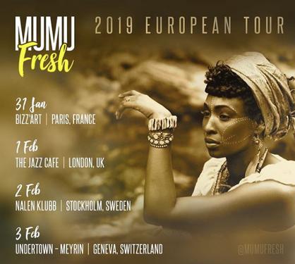 European Tour 2019 (avec Briclyn Ent)