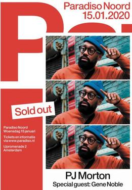 PJ live @ Amsterdam (partenaire Briclyn Ent)