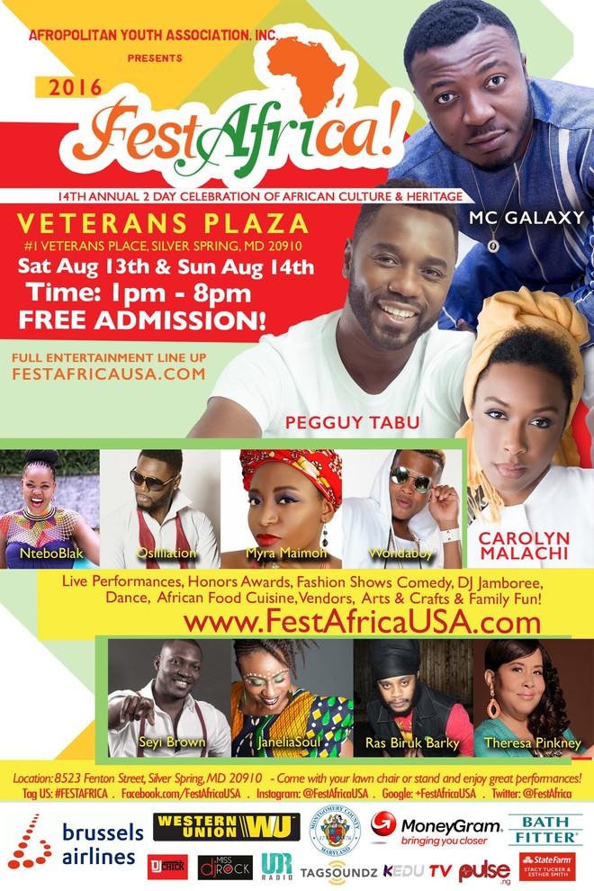 Pegguy Tabu @ Fest Africa (Washington DC, USA)