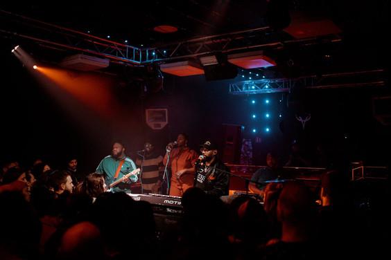 PJ Morton european tour (Madrid 2020)