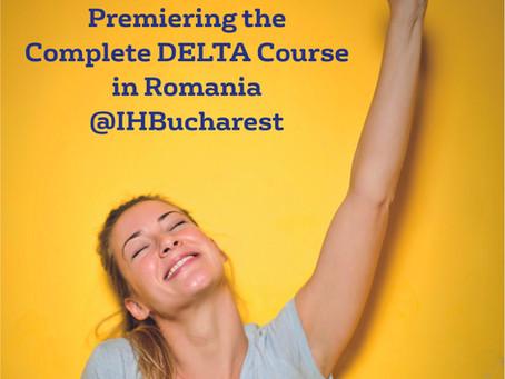 Premiering the Complete DELTA Course in Romania