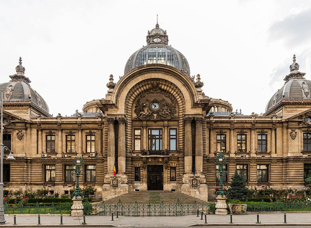 A Statement of Little Paris Charm: Bucharest's CEC Palace