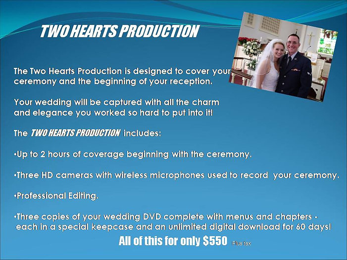 Two Hearts Wedding Production 2020 Websi