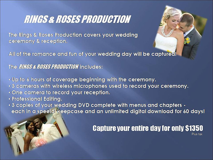Rings & Roses Production 2020 Website De