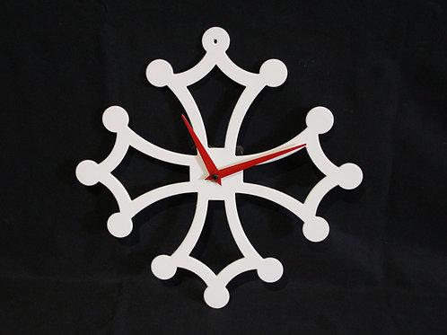 Horloge croix occitane 30 cm sans N°
