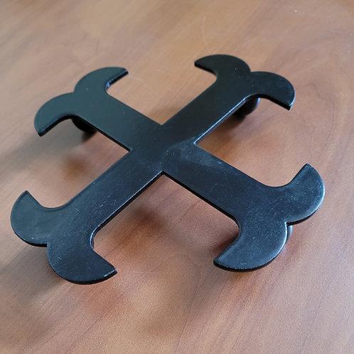 Dessous de plat croix Templiers 15 cm