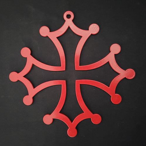 Croix occitane 12 cm