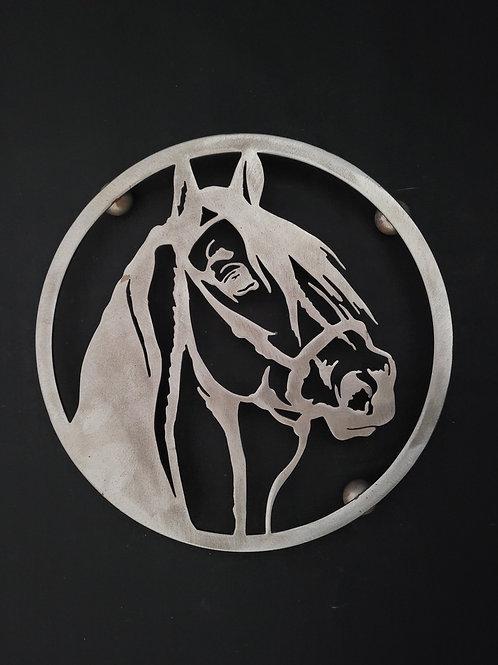 Dessous de plat cheval encerclé 25 cm