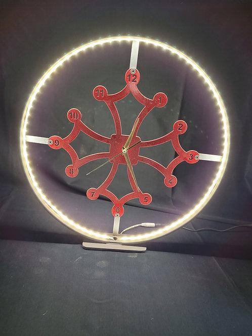 Horloge LED 60 cm
